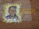 Rev. Dr. Pauli Murray True Community Mural (photo credit: Courtesy Face Up Project, Center for Documentary Studies)