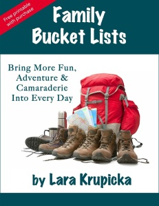 """Family Bucket Lists"" now available for purchase at www.larakrupicka.com"